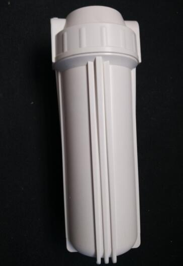 10-inch 1/2 Port White PP standard water filter housing 20 standard water filter housing