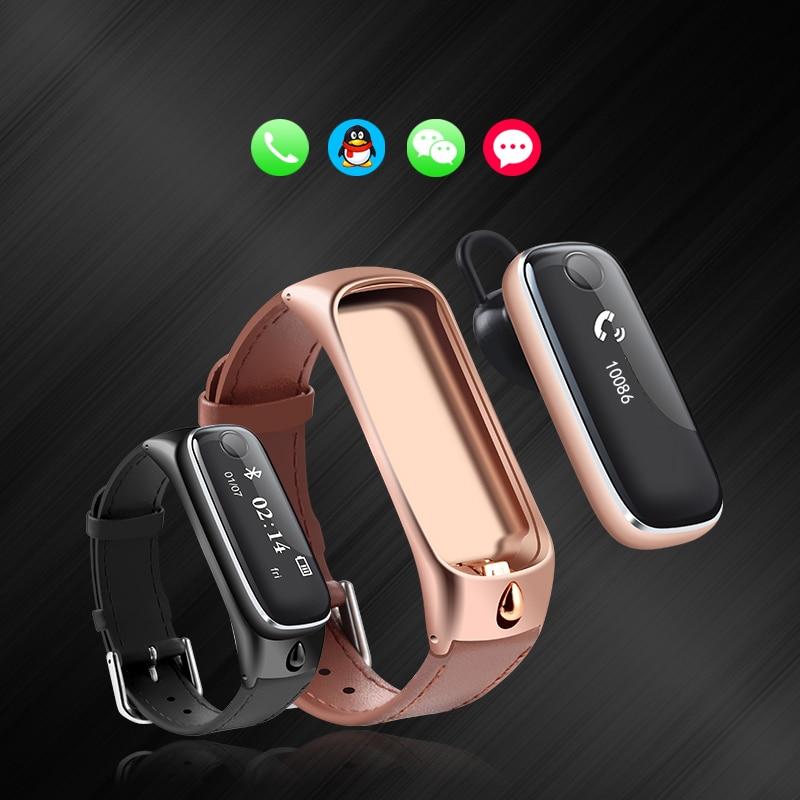 Smart Watch Bluetooth Headset Sports Smartband M6 Wristband Bracelet For Android Ios Phone Fitness Tracker Pk Fitbit Mi Band 2 Mi Band Mi Band 2band 2 Aliexpress