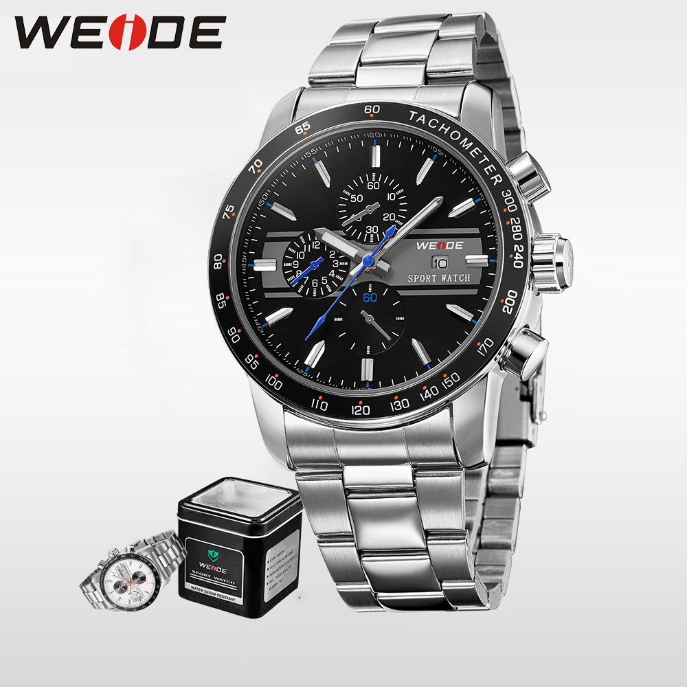 WEIDE Military Watch Analog Display 3ATM Water Resistant  Casual  Brand Quartz Men Sports Watches Relogio Masculino Clock Gift weide genuine top brand military watch luxury men watch multiple time zone waterproof sports clock relogio masculino gift uv1503