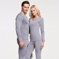 Autumn And Winter Modal Thermal Underwear Men And Women Soft Long Johns Elastic Warm Thick Milk