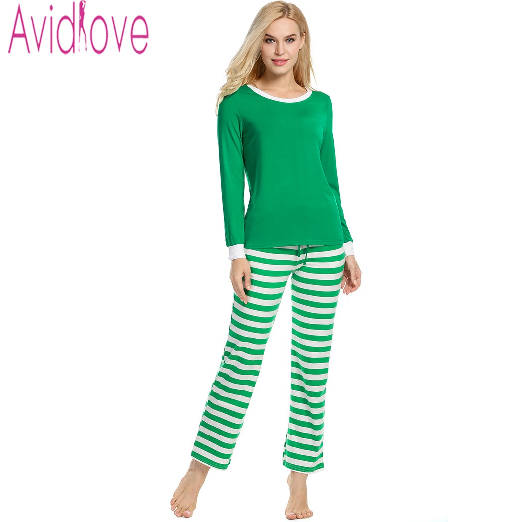Avidlove pajamas for women casual soft loose cotton Long cotton sleep shirts