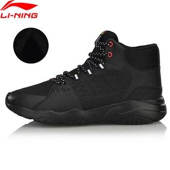 Li-Ning hombres en PIONEER caminando zapatos transpirables zapatos de lana  caliente portátil forro comodidad Zapatos de deporte Zapatillas de deporte  ... 46af4d40240bb