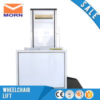 Wheelchair lift outdoor or indoor home elevator vertical platform lift manufacturer sale electric elevator cheap price