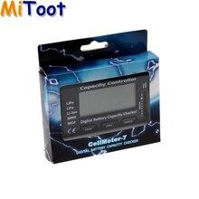 1pcs Digital Battery Capacity Checker RC CellMeter 7 For LiPo LiFe Li-ion NiMH Nicd