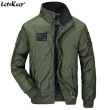 LetsKeep Winter Air Force bomber font b jacket b font men windbreaker military army font b