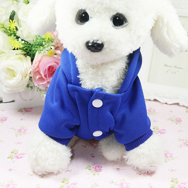 Soft Cotton Dog Coats Jackets Winter Dog Clothes Yorkie Clothes