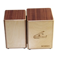 GECKO BONGO 2 CS087 Cajon Siamese Box Drums / Hand Percussion Drum Instruments