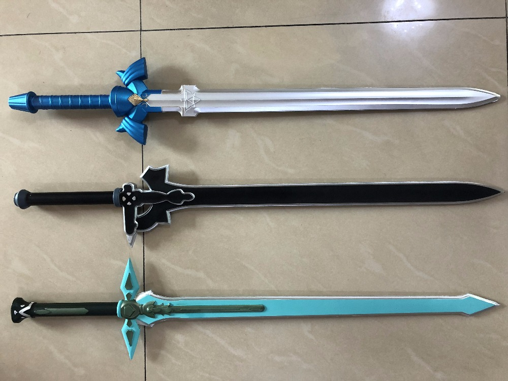 80cm 1:1 Cosplay Sword The Legend of Zelda SkySword & SAO Elucidator/Dark Repulser Sword Art Online Weapon PU Foam Kids Toy