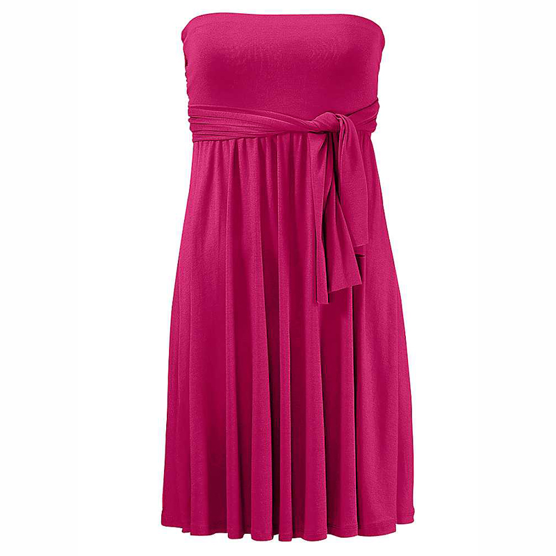 Hot Multy Way Feminine Cover Ups 2017 Removable Padding Convertible Plus Size Women Beach Dress S.M.L.XL 5