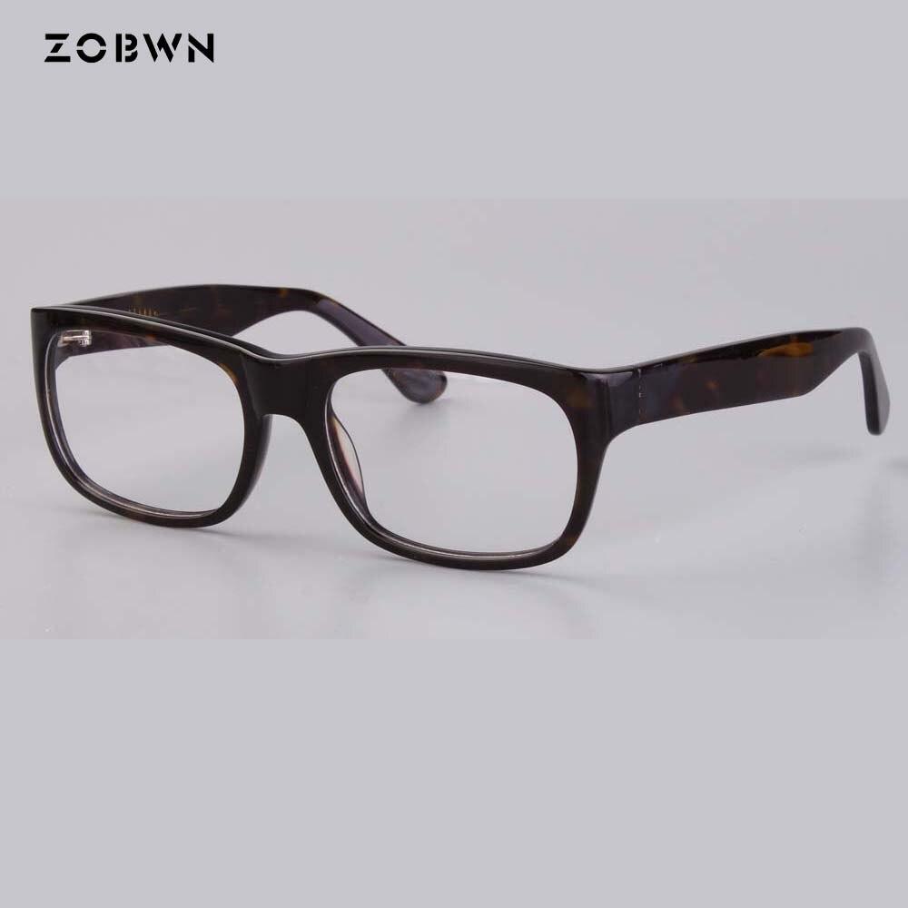bee059d91e2 ZOBWN new arrival famous design Clear Lens Glasses Frame Women Fashion  Oversized Spectacle Frame Optical Eyeglasses unisex gafas-in Eyewear Frames  from ...