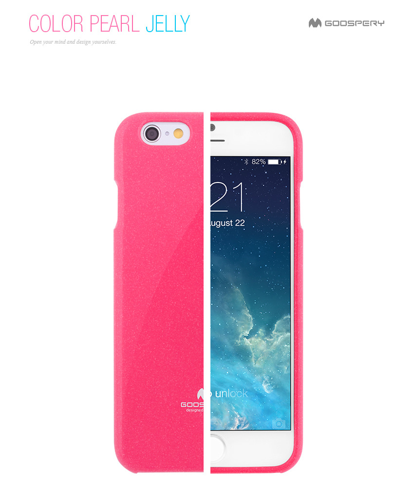 Original Mercury Goospery Color Pearl Jelly Flexible Tpu Soft Cover Iphone 8 Plus Fancy Diary Case Yellow Hotpink 01 1 2