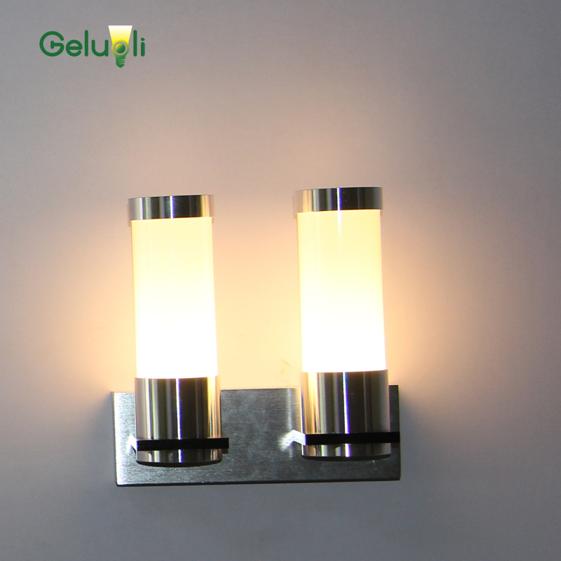 Indoor Led Wall Lights Single and Double Tube Home ... on Wall Mounted Decorative Lights id=25438