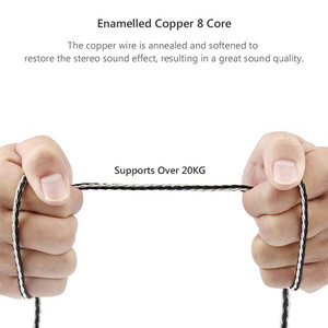 Image 5 - 3.5 mm Jack Audio Cable Male to Male Aux Cable Gold Plated 3.5mm Plug Pure Copper Silver Plated Wire 0.5M 1.2M HIFI Speaker Line