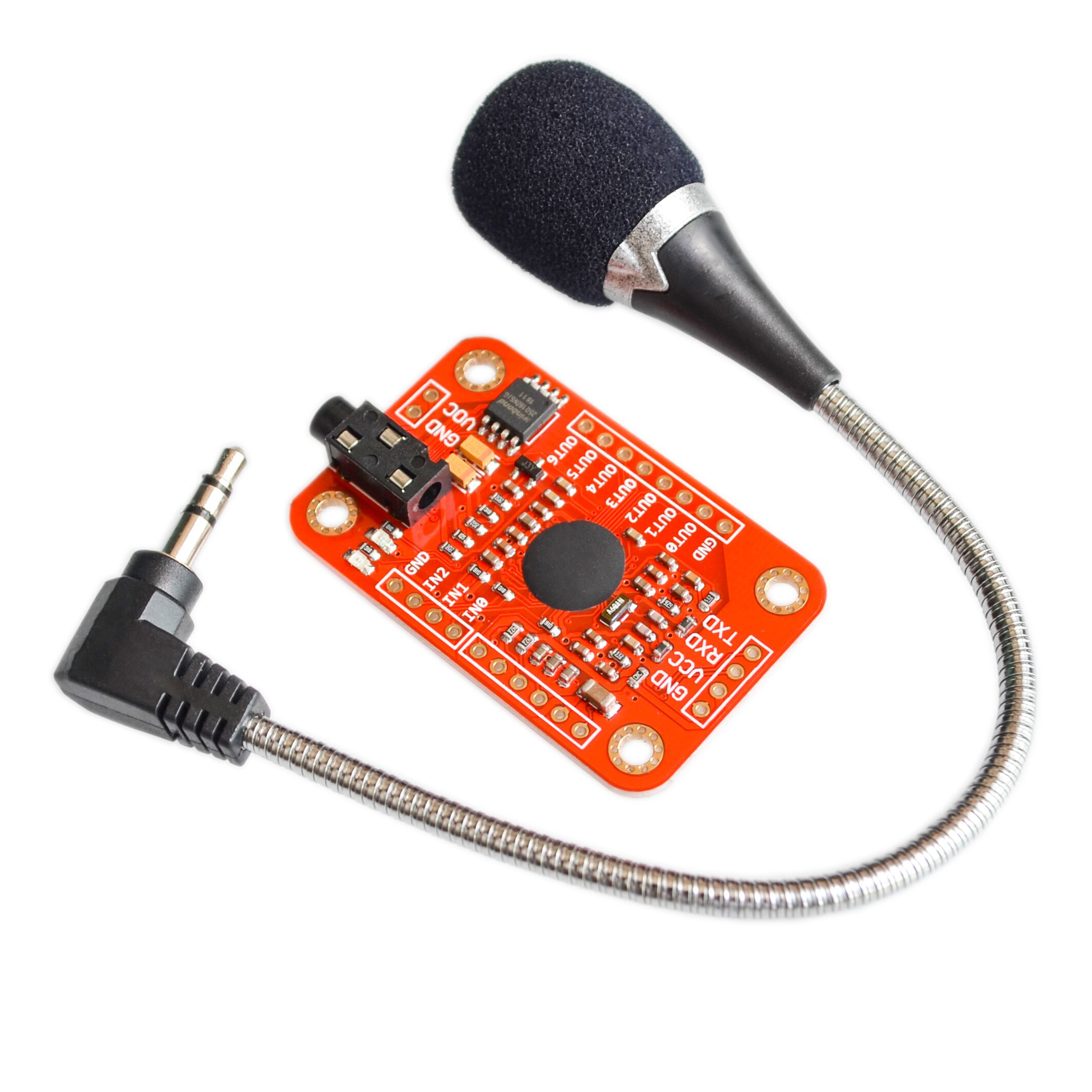 5sets Speed Recognition, Voice Recognition Module V3, compatible with  Ard5sets Speed Recognition, Voice Recognition Module V3, compatible with  Ard