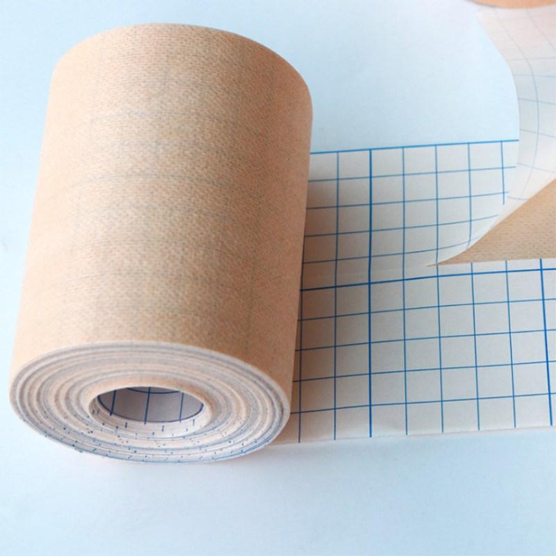2 roll Adhesive Wound Dressing bandage Medical Fixation Tape Bandage breathable spunlace non woven fabric anti allergicEmergency Kits   -