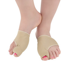 Foot protection sleeve thumb hallux valgus orthotics day and night with big toe set of male cloven foot