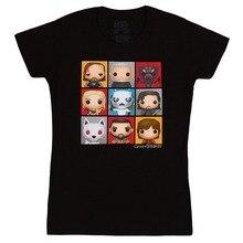 Newest Funny  Game of Thrones Pop Boxes Juniors Men Funny informal streetwear hip hop printed T shirt
