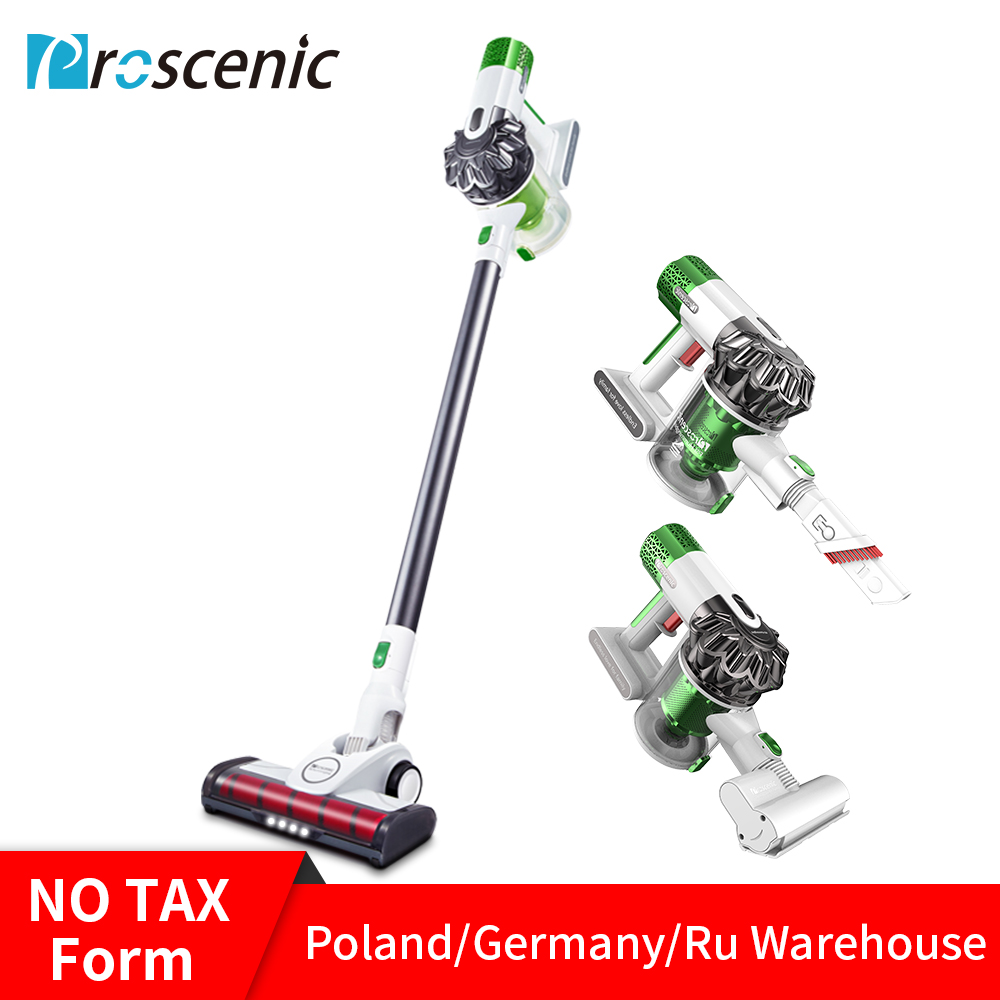 Proscenic P9 Vacuum Cleaner Cordless Stick Vacuum Power Suction 15000Pa Handheld Vacuum with LED Headlight 2-in-1 VacuumProscenic P9 Vacuum Cleaner Cordless Stick Vacuum Power Suction 15000Pa Handheld Vacuum with LED Headlight 2-in-1 Vacuum