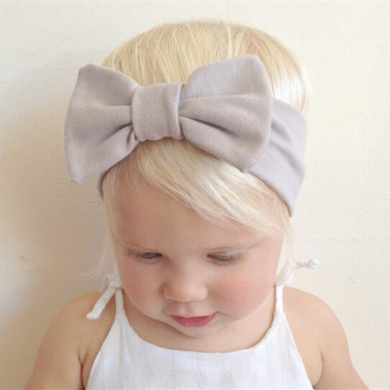 2017 Fashionable Bow Hairbands Flower Headband Stretch Turban Bow knot Head Wrap Hair Bands Accessories Headwear KT013  twdvs flower girls bow knot headband girls flower head bands hair accessories 2017 hair bands style hot sell headwearw077