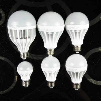 E27 220v led light lamp 3w 5w 7w 9w 12w 15w lampadas led bulb image