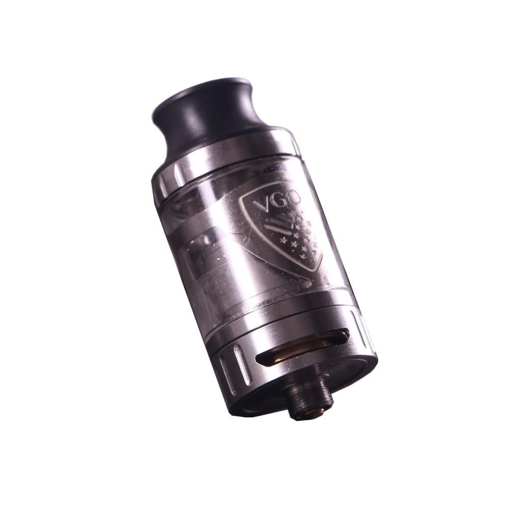 D'origine VGOD subohm réservoir 4 ml capacité fuite preuve deux large réglable flux d'air slots vaporisateur atomiseur pour VGOD pro 200 w mod kit