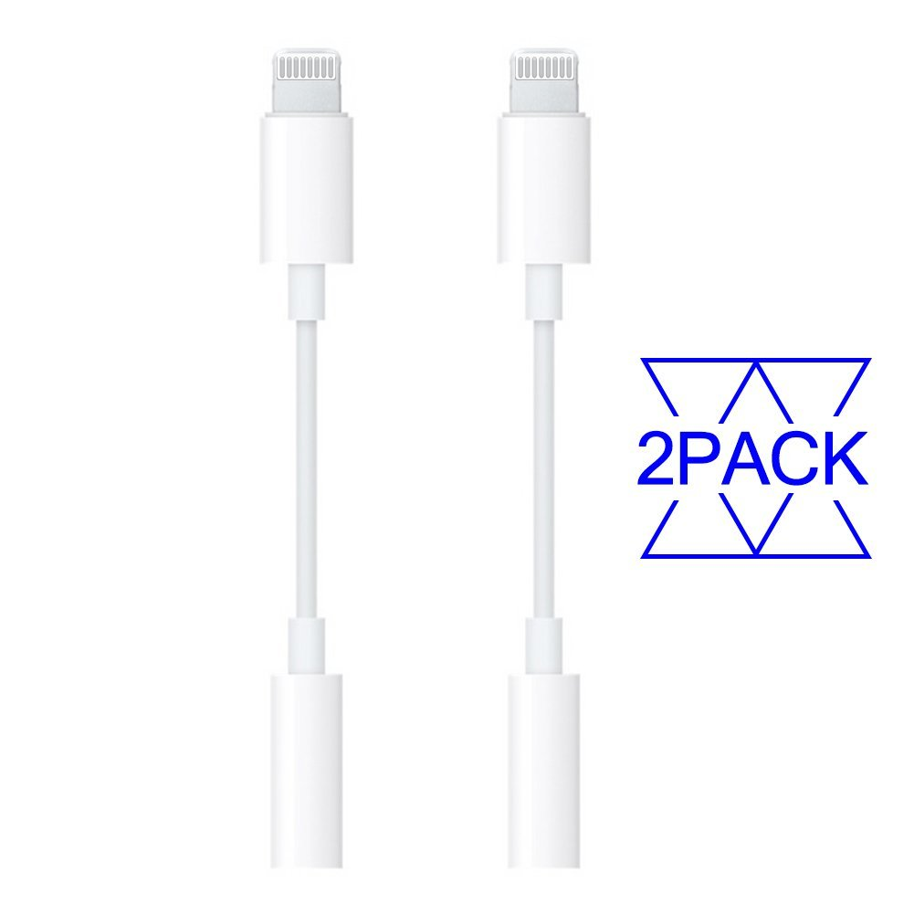 Headphone Adapter [2 Pack] to 3.5mm earbuds Jack Adapter