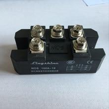 1 шт. MDS100A 3 фазы диодный мост выпрямителя 100A Amp 1600 в мостовой выпрямитель