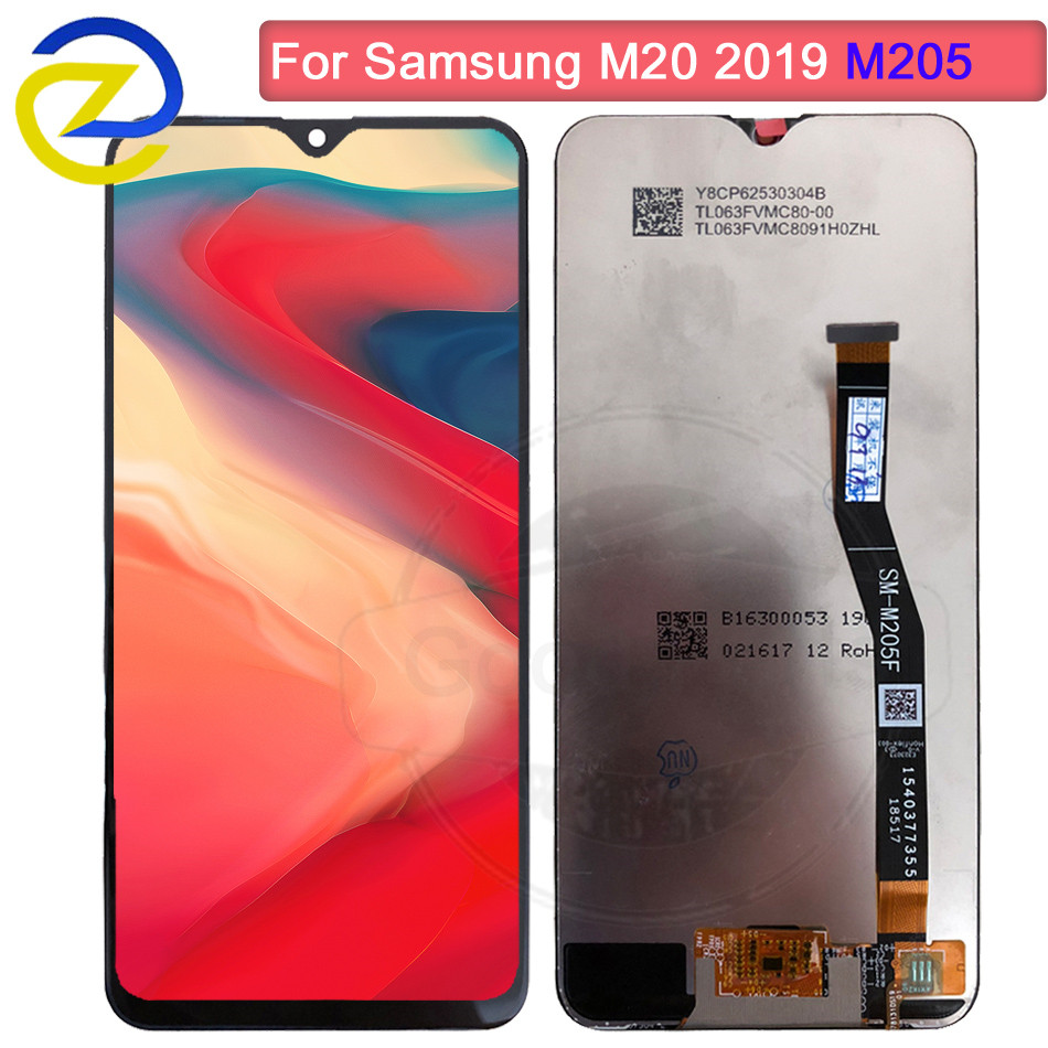100% tested LCD for SAMSUNG Galaxy M20 2019 Display Touch Screen Digitizer Assembly SM-M205 M205F M205G/DS lcd replacement100% tested LCD for SAMSUNG Galaxy M20 2019 Display Touch Screen Digitizer Assembly SM-M205 M205F M205G/DS lcd replacement