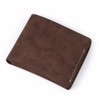 Ruil 2017 New Wallet Retro Handmade 100 Authentic Genuine Oil Leather Crazy Horse Leather Men S