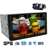 Full Touch Screen Car PC Android 4.2 OS Car Tablet no-DVD Player Built-in 3D GPS+Free Camera and WiFi+Bluetooth+Ipod+Dual Core