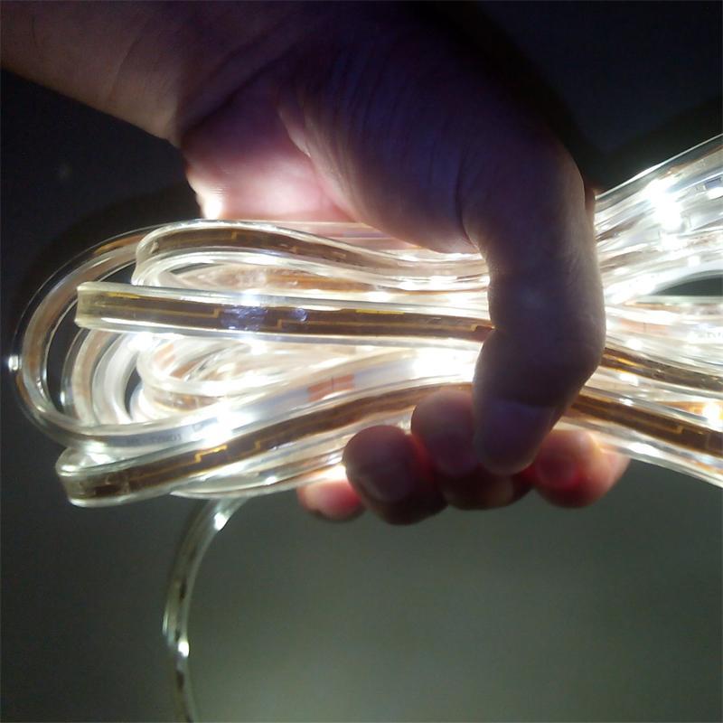 ФОТО Solar powered 80leds 5M SMD3528 led strip light 4.8W 3V  led decorative neon lamp IP65 waterproof Holiday solar  flexible light