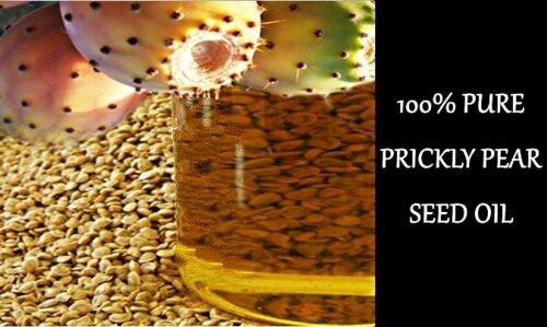 100% PURE NATURAL COLD PRESSED PREMIUM GRADE MOROCCAN PRICKLY PEAR SEED OIL