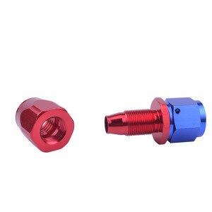 Адаптер evil energy AN10 с поворотом на 0 градусов, Алюминиевый шланг с прямым наконечником, многоразовый штуцер для масла и топлива
