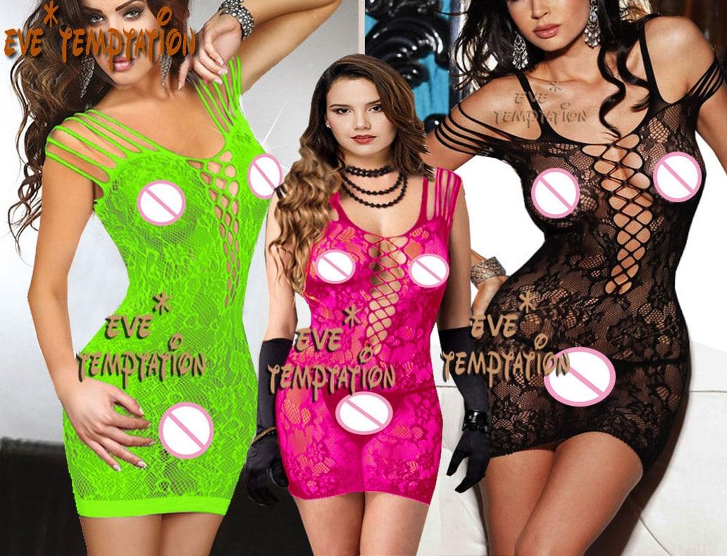 Szexi fehérnemű Babydoll baba baba minidress perforált fehérnemű Sleepwear Chemises Best Nightgown játék Sleepwear Harisnyanadrág 6637