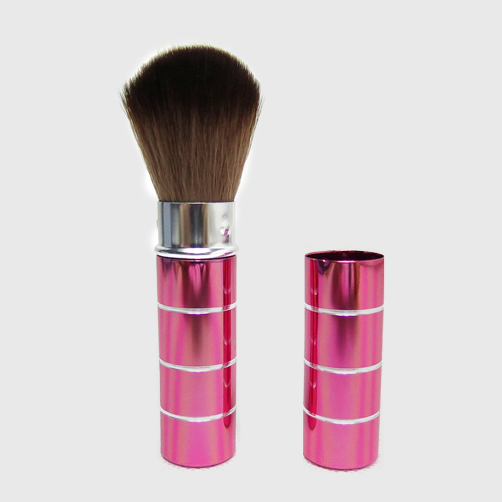 Portable Scalable Makeup Brushes Set Lipbrush Eyeliner Concealer Cosmetic Brush Convenient For Travel