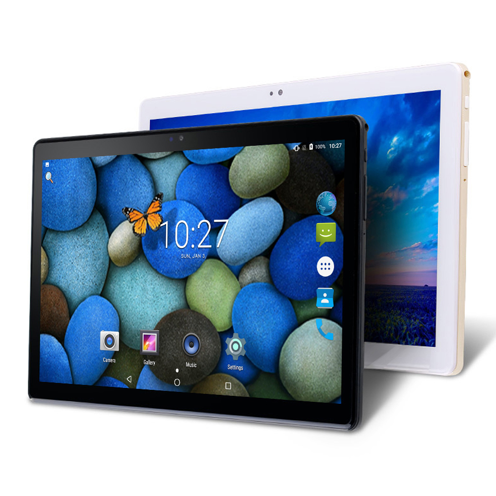 2.5D IPS Screen 10 Inch Android Tablet PC MTK6580 Quad Core 3GB RAM 32GB ROM WIFI GPS Dual SIM Card 3G WCDMA Phone Call