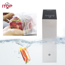 ITOP 220V Sous Vide Precision Cooker Immersion Pod with Digital LCD Display 1100W Stainless Steel Powerful Operation Quiet