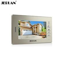 JERUAN FREE SHIPPING 7 inch video door phone  doorbell video door phone intercom system 720G  monitor  + Power Adapter