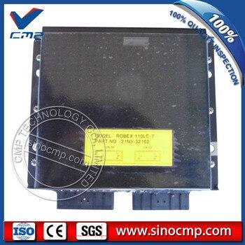 R170W-7 excavator control panel 21N5-33100, CPU panel