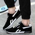 2017 Fashion Men Casual Shoes Luxury Brand Tenis Men Shoes 2016 Breathable Casual Shoes Mens Trainers Zapatillas Hombre Black