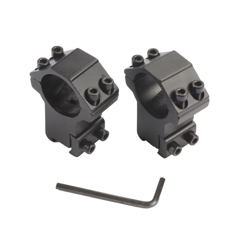 Hunting High Scope Mount 25..4mm Rings For Weaver Picatinny 11mm Rail For Optics Sight Accessories Hunting Caza