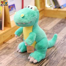 Plush Dinosaur Toy Stuffed Dinosaurs Toys Doll Model Boy Kids Children Birthday Gift Shop Home Decor Triver Drop Shipping недорого