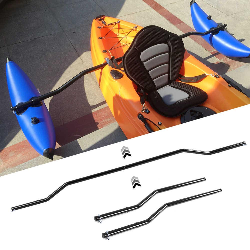 1 par de brazos de apoyo de Kayak, sistema de estabilizador de pesca de canoa, sistema de estabilización inflable de Kayak de montaje en Rack