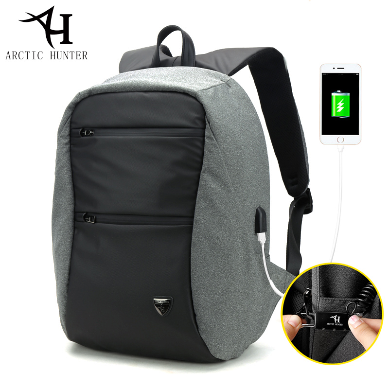 Hommes TSA Lock Anti-voleur sacs à dos d'ordinateur portable mode femmes sac à dos décontracté hommes Usb charge voyage sac à dos sac D0109