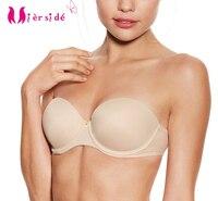 WX060 Sexy Bra 6cm Push Up Women Underwear 3 Color 32B 34B 36C 38D Y Line
