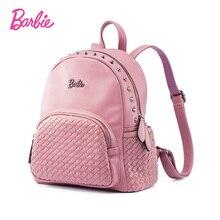 Барби женские рюкзаки Летняя Новинка 2017 г. девочек рюкзак Сумки Малый тенденции моды краткое сумка для леди