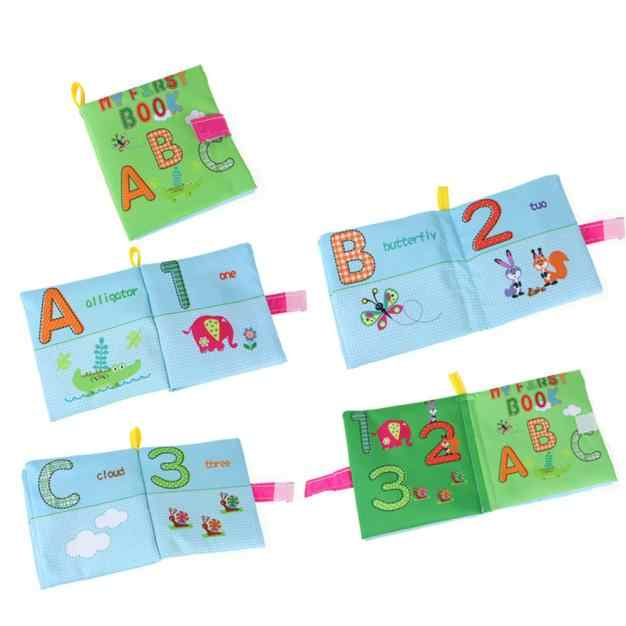 2018 Дети Ткань Книга мультфильм животных мягкие детские обучения Развивающие игрушки Красочные история животных развитие интеллекта игрушка