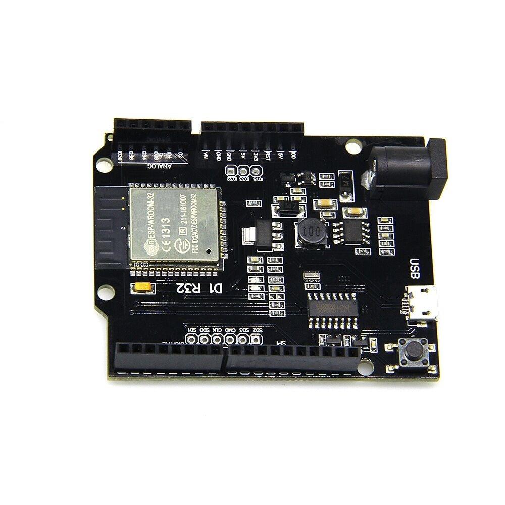 For Wemos D1 ESP32 WiFi Bluetooth 4MB Flash UNO D1 R32 Board Module CH340 CH340G Development Board For Arduino One