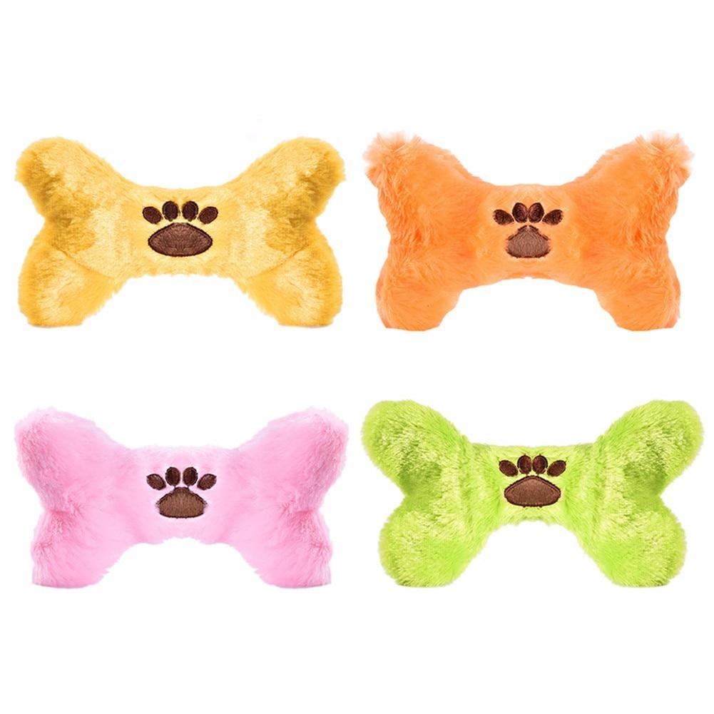 Kiskutya játékok - színes csonttípus, beépített hangjelző, - Pet termékek