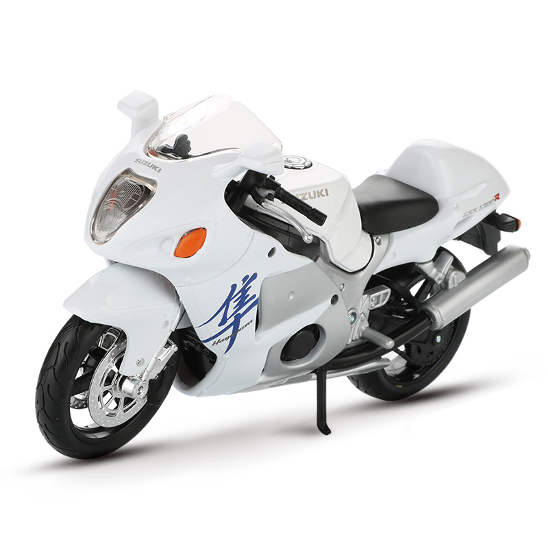 Maisto 1:12 Alloy Motor Bike <font><b>Model</b></font> Toy <font><b>Motorcycle</b></font> Racing Car GSX 1300R Hayabusa Car <font><b>Models</b></font> Collection Educational Toys For Boys image